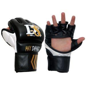 Rękawice chwytne Grappling Max-D MMA (204555) - SKÓRA NATURALNA