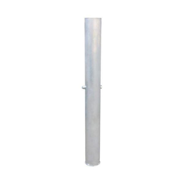 Tuleja aluminiowa zewnętrzna fi - 76 L- 800 mm do słupków stalowych