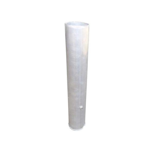Tuleja alu zewnętrzna 120/100 L-500 mm - do słupków aluminiowych