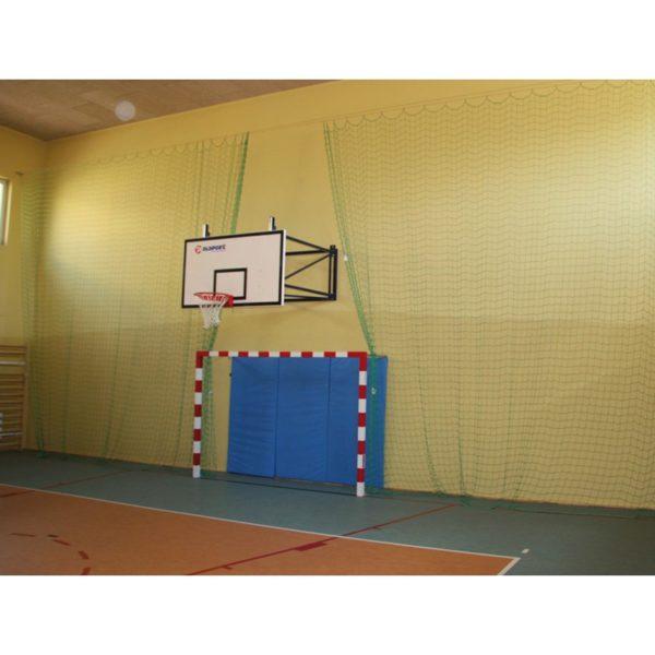 Osłona na ścianę wysokość 2m, szerokość 1m, twardy z rzepem