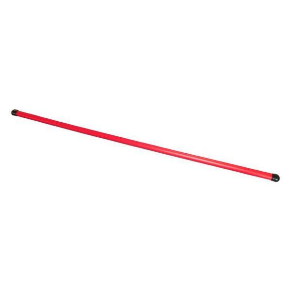 Laska gimnastyczna 90cm plast. czerwona