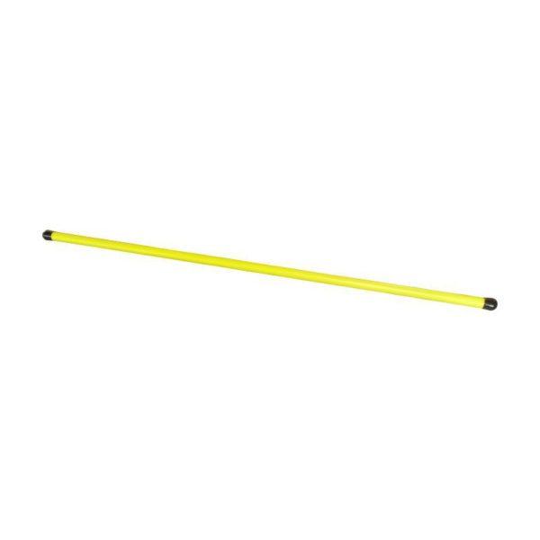Laska gimnastyczna 120 cm plast. żółta