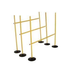 Zestaw tyczek do zabaw ruchowych (8 szt)
