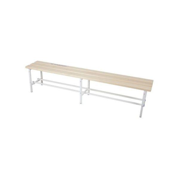 Ławka korytarzowa drewniana 4m z półką na obuwie