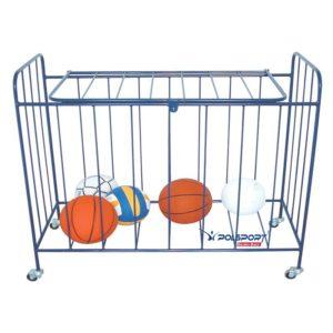 Wózek na piłki zamykany
