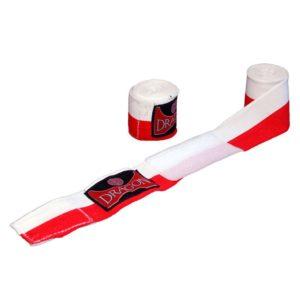 Bandaż bokserski PL elastyczny dł. 3 m (200003)