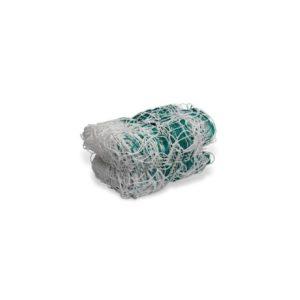 Siatka do piłki ręcznej PE 4 mm 3x2x1,5 m biało-zielona