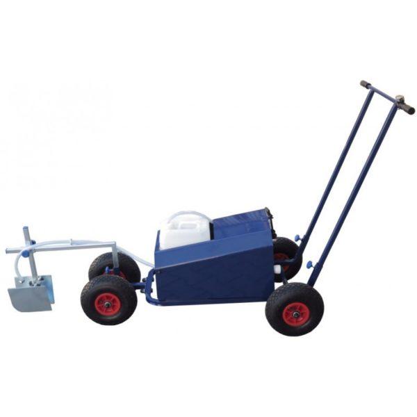 Wózek akumulatorowy do malowania lini boisk