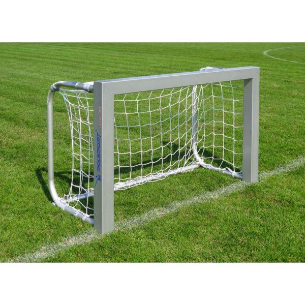 Bramka do piłki nożnej 1,2x0,8 m aluminiowa przenośna