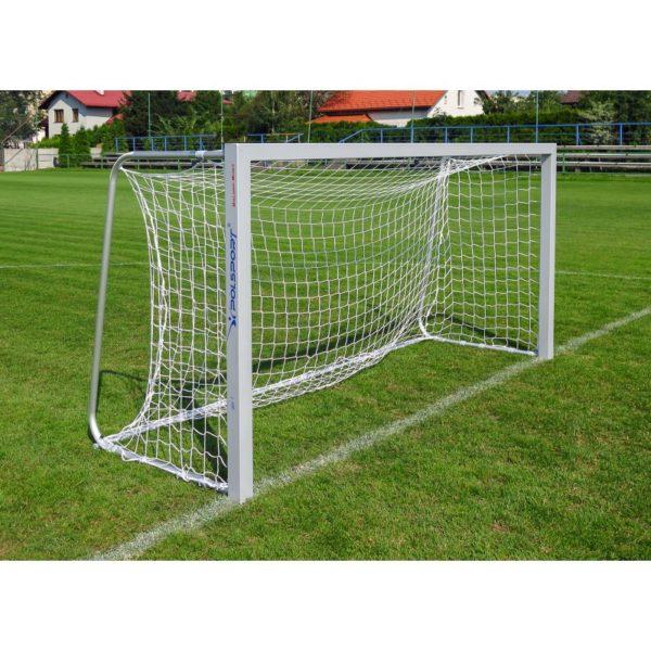 Bramka do piłki nożnej 3x1,55 m aluminiowa przenośna ŻAK