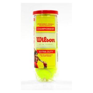 Piłka do tenisa ziemnego WILSON Championship (3szt)