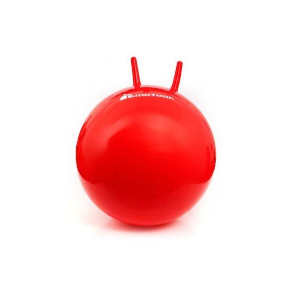 Piłka skacząca z rogami 55 cm 31120- OSTATNIA SZTUKA
