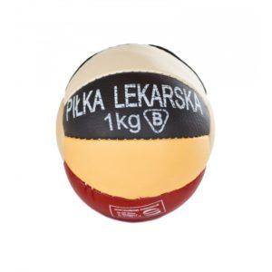 Polska Piłka lekarska ze skóry naturalnej waga 1kg