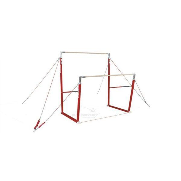 Poręcze gimnastyczne asymetryczne (3210) CERTYFIKAT FIG