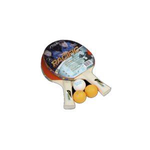 Rakietka do tenisa stołowego STIGA PACIFIC - (2 rakietki + 3 piłeczki)
