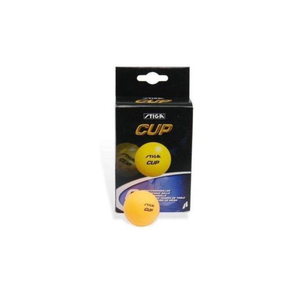 Piłeczka do tenisa stołowego STIGA (pomarańczowa)