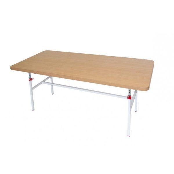 Stolik sędziowski do tenisa stołowego z regulacją wysokości 180x80