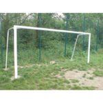 Bramka do piłki nożnej 7,32x2,44m stalowa stała