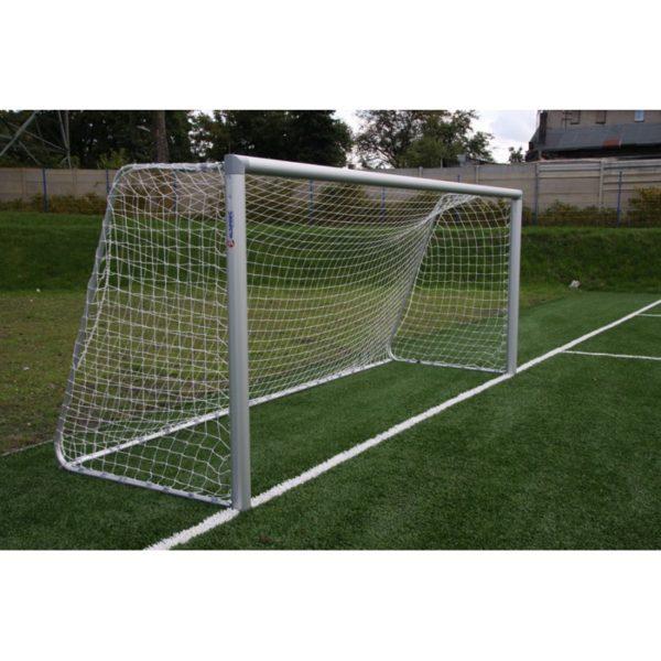Bramka do piłki nożnej 5x2 m aluminiowa przenośna