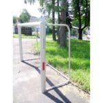 Bramka do piłki nożnej 2,2x1,5 m aluminiowa przenośna