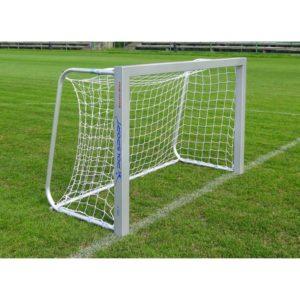 Bramka do piłki nożnej 1,8x1,2 m aluminiowa przenośna