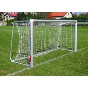 Bramka do piłki nożnej 3x1,55 m przenośna aluminiowa