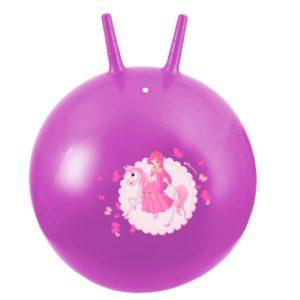 Piłka skacząca z rogami 60 cm