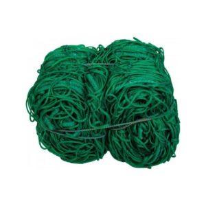 Siatka do piłki nożnej PP/b 4 mm 7,5X2,5X2X2 m (do bramki stacj.) zielona